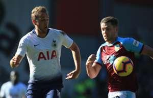 Tottenham Burnley Harry Kane