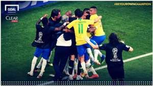 Laporan pertandingan: Brasil 2-0 Meksiko