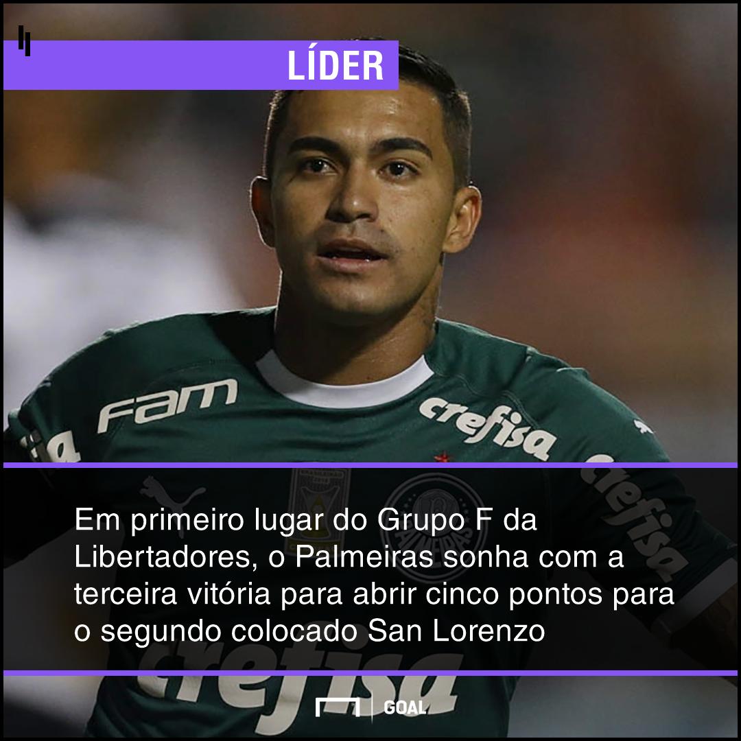 GFX bet365 San Lorenzo x Palmeiras
