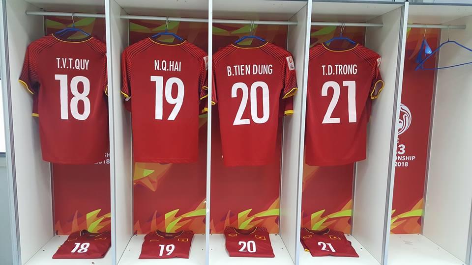 Tủ áo U23 Việt Nam