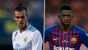Gareth Bale, Ousmane Dembele