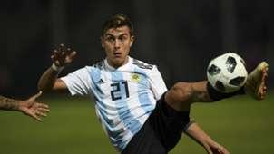 Dybala Argentina Mexico Amistoso Internacional Fecha FIFA 16112018