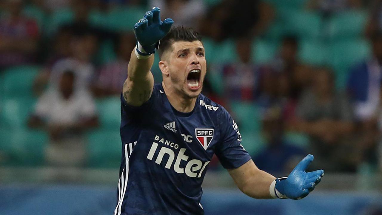 Tiago Volpi Bahia São Paulo Copa do Brasil 29052019