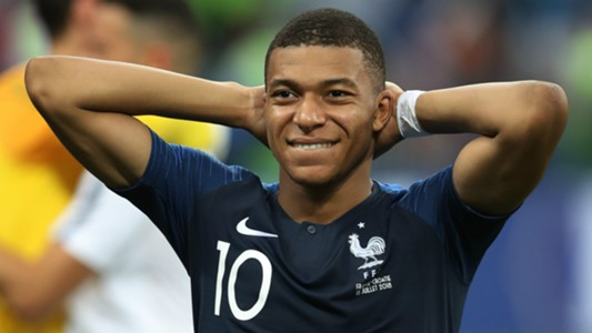 Kylian Mbappe France 2018 World Cup