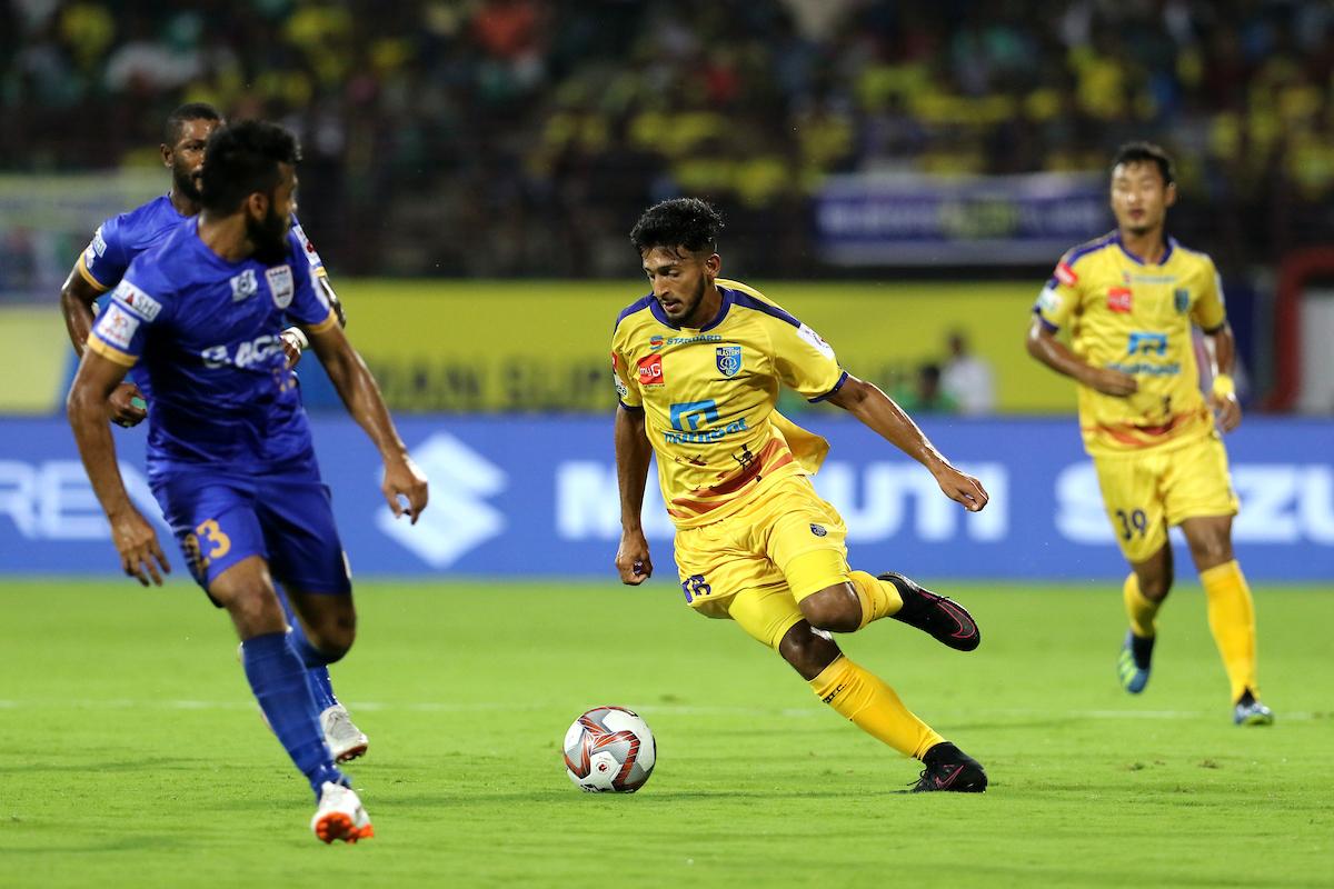 Sahal Abdul Samad Kerala Blasters ISL