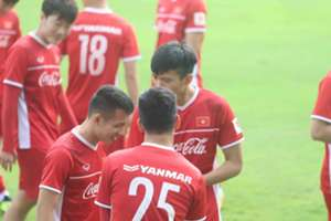 Hung Dung Vietnam training Asian Cup 2019