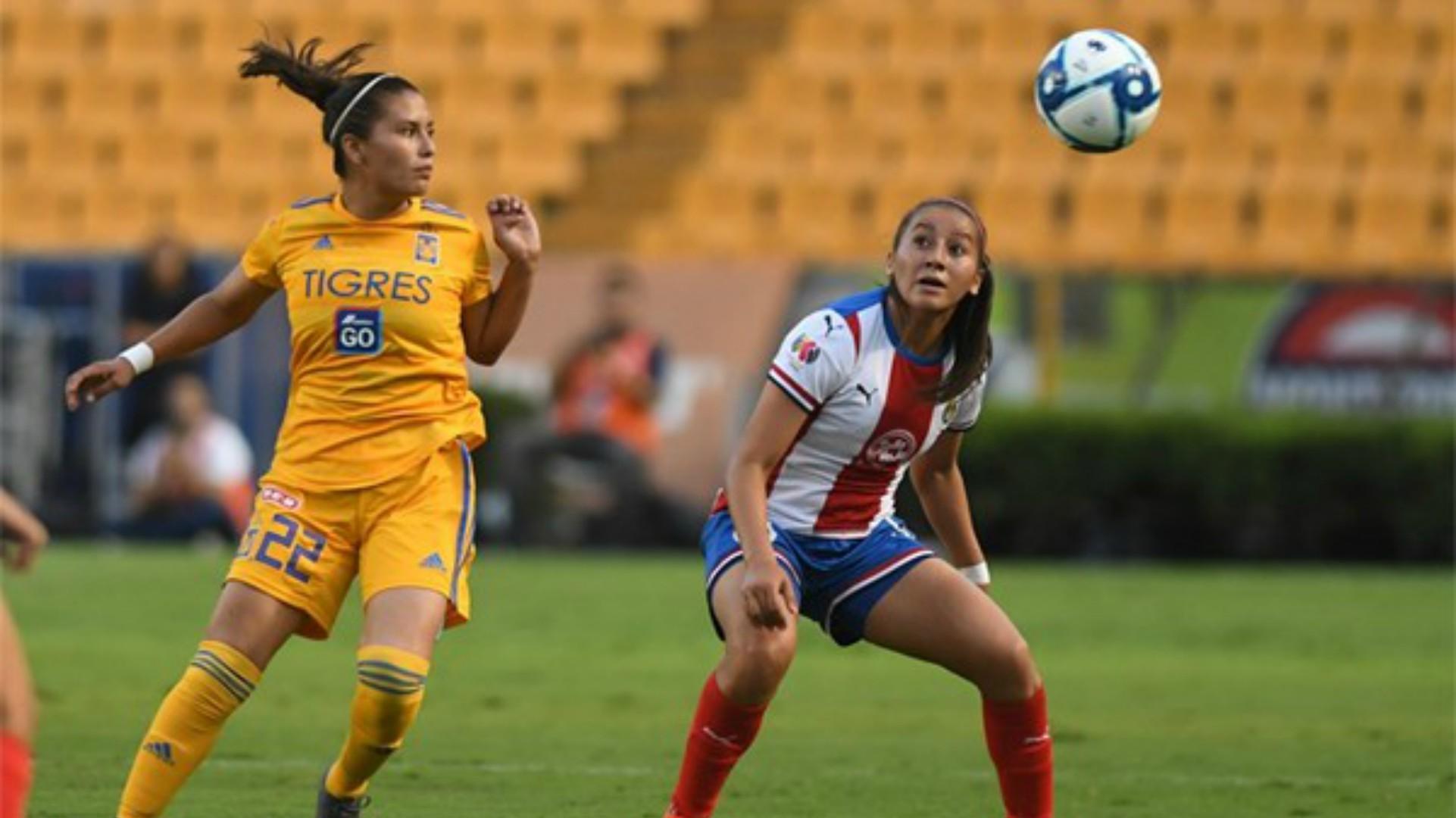 Tigres Chivas Liga MX Femenil