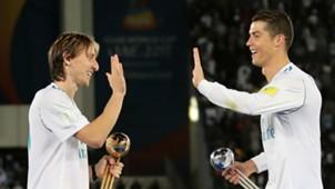 Luka Modric Cristiano Ronaldo Real Madrid
