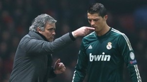 Jose Mourinho Cristiano Ronaldo