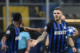 Mauro Icardi Kwadwo Asamoah Inter Mailand 06112018