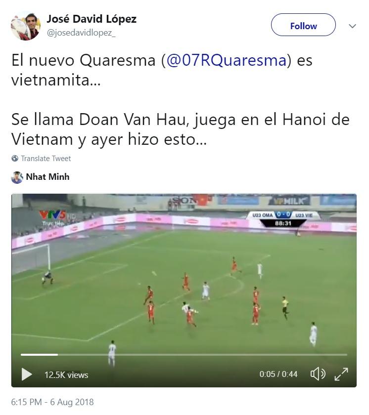 Van Hau reaction 2