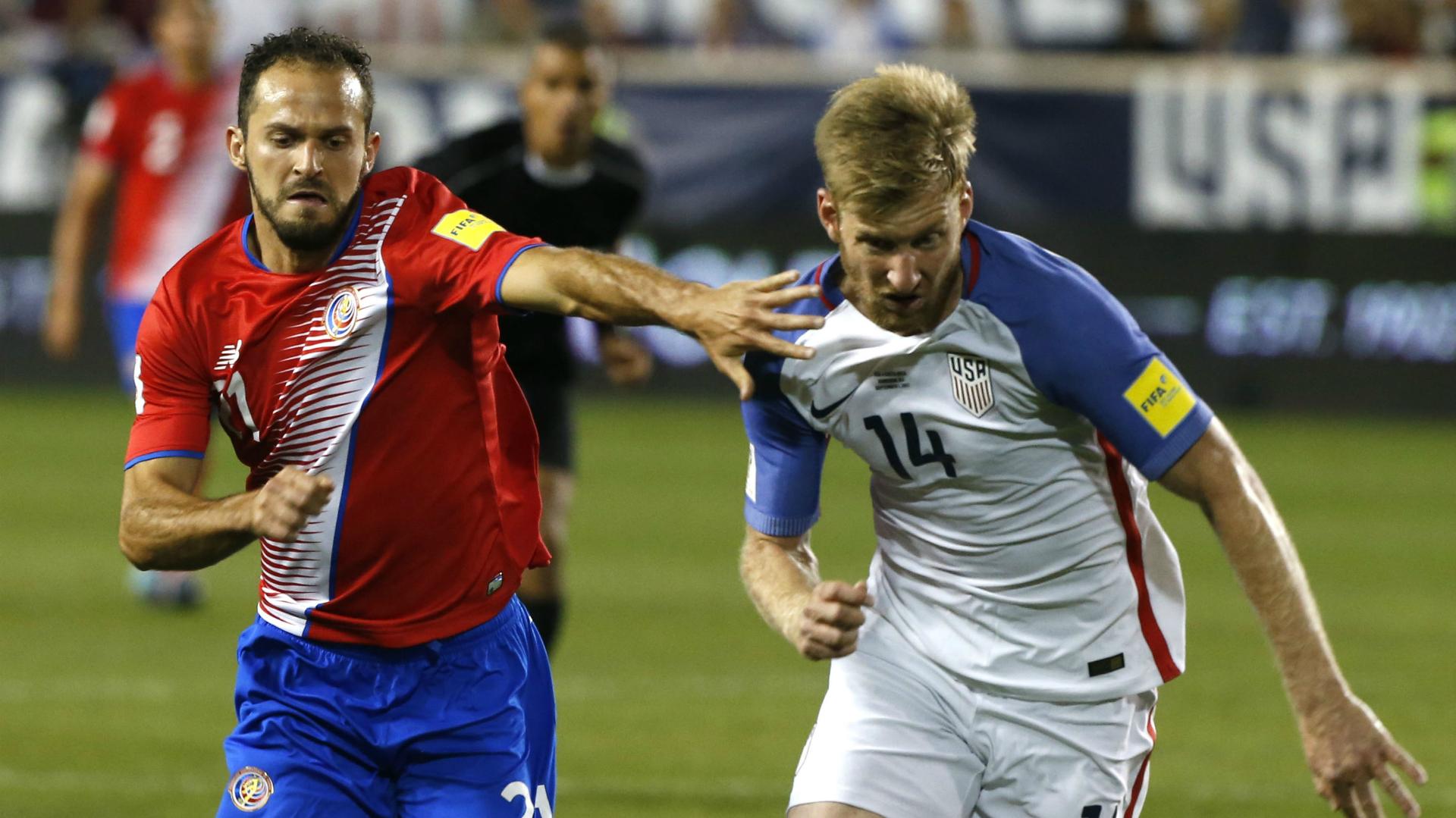 Marco Urena Tim Ream Costa Rica USA