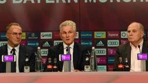 Karl Heinz Rummenigge Jupp Heynckes Uli Hoeness Bayern Munchen