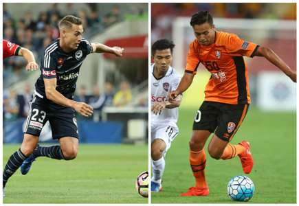 Jai Ingham Melbourne Victory A-League Dane Ingham Brisbane Roar AFC Champions League