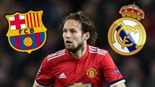 Daley Blind Real Madrid Barcelona GFX