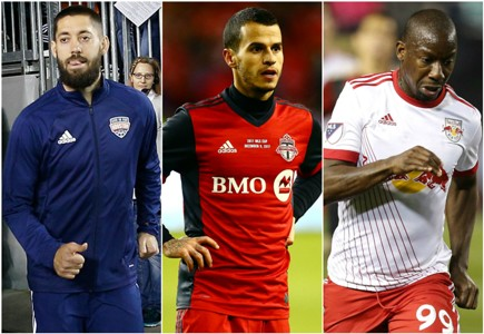 Clint Dempsey Sebastián Giovinco Bradley Wright-Phillips