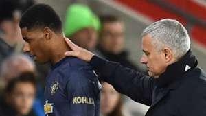Rashford Mourinho Manchester United 01122018