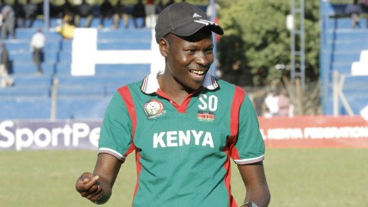 Harambee Stars coach Stanley Okumbi