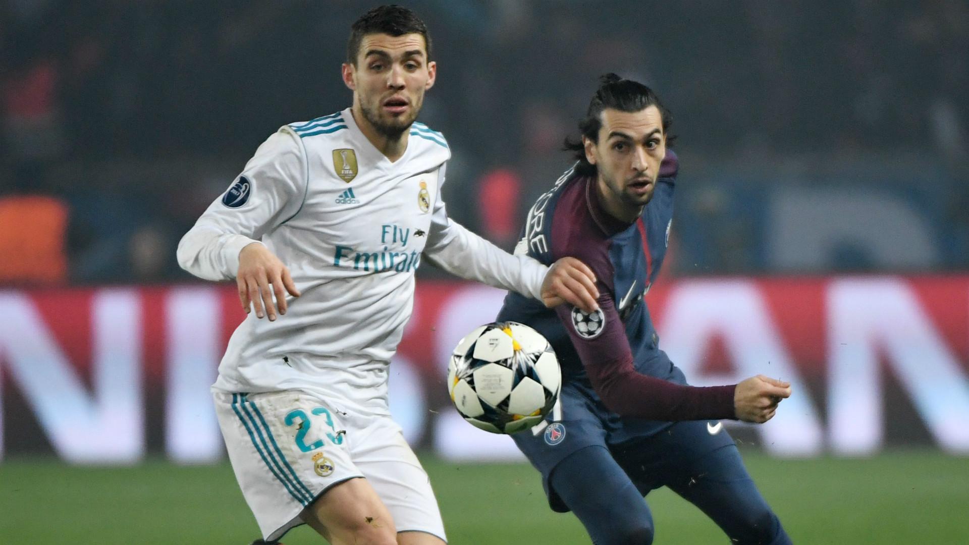 MATEO KOVACIC REAL MADRID JAVIER PASTORE PARIS SAINT-GERMAIN UEFA CHAMPIONS LEAGUE 06032018