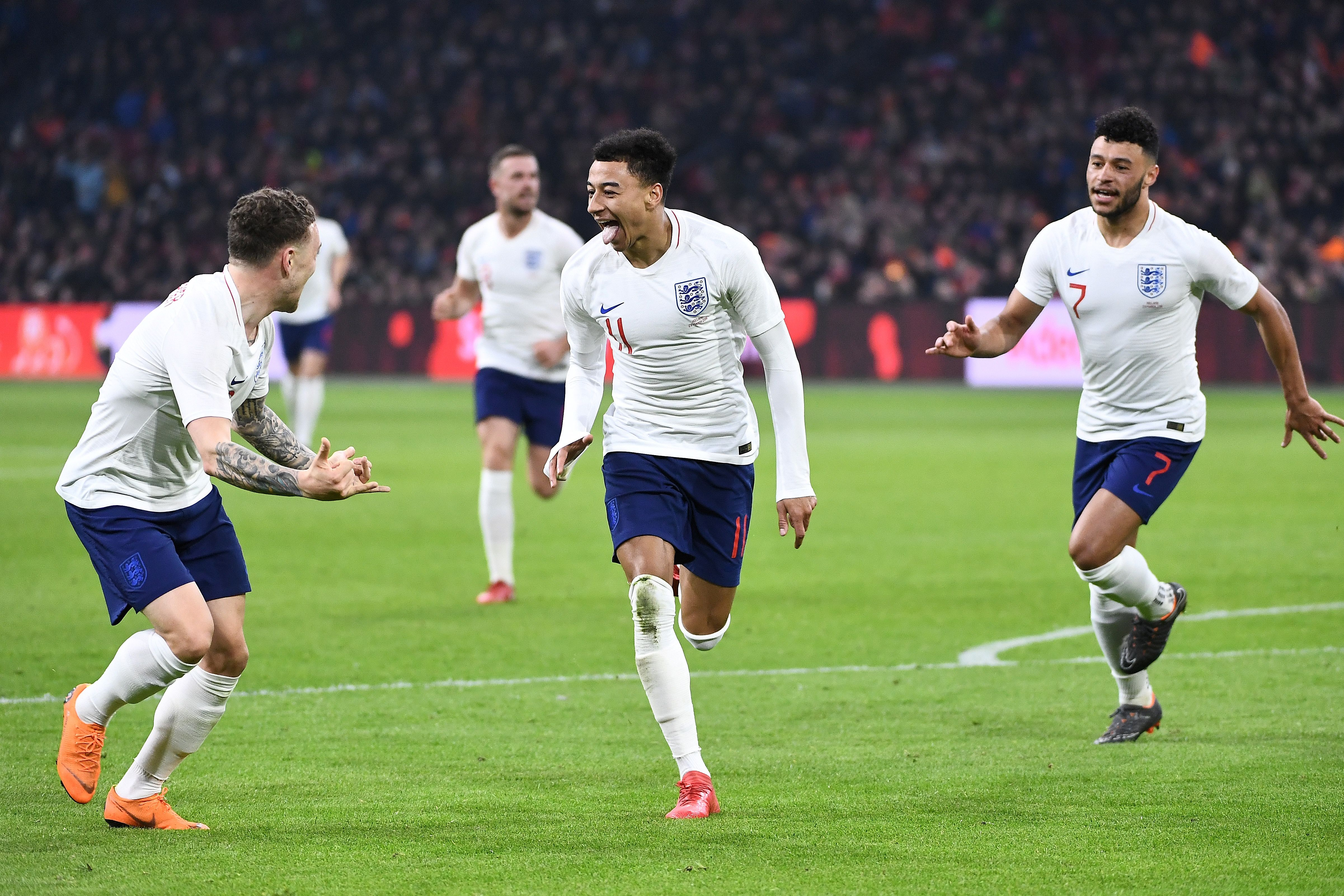 EMBED ONLY Jesse Lingard England