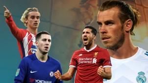 GFX Transfergerüchte Griezmann Hazard Can Bale