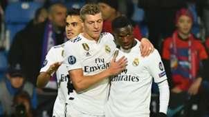 Toni Kroos Vinicius Viktoria Plzen Real Madrid Champions League 07112018