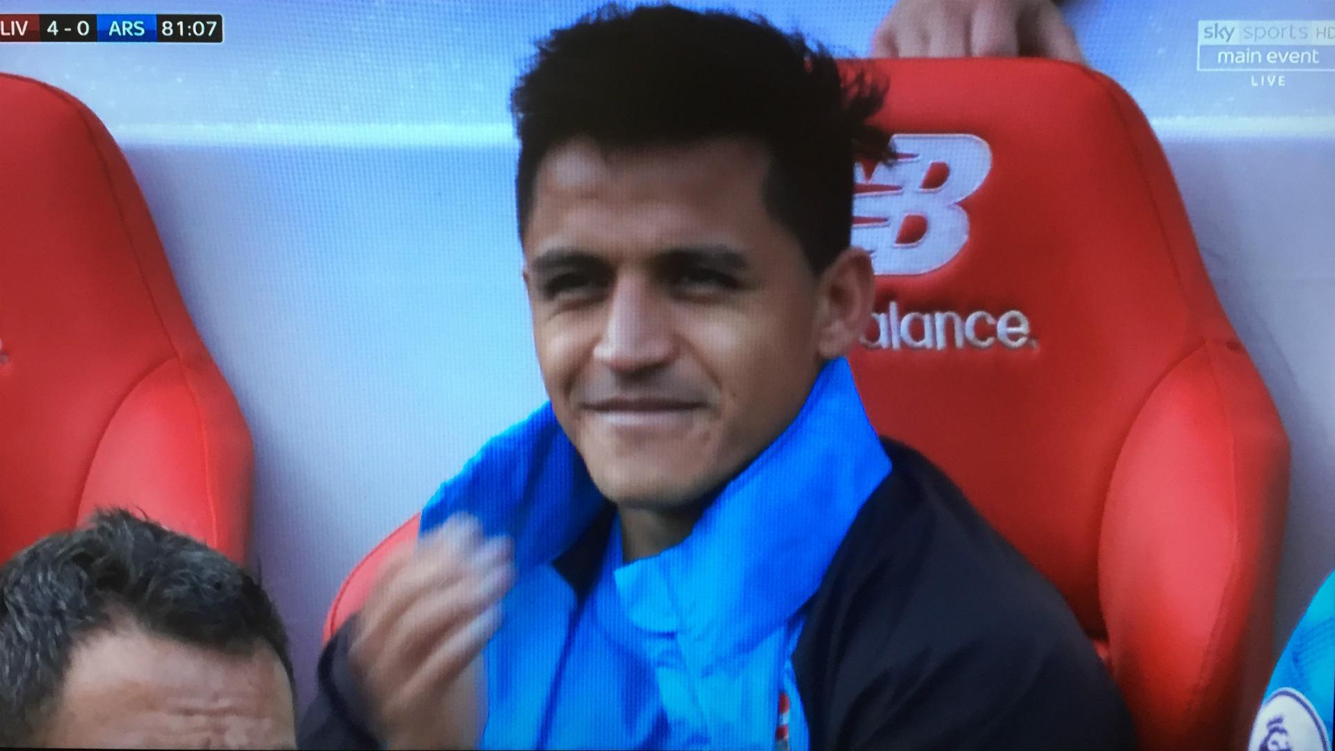 Alexis Sanchez Arsenal Screenshot
