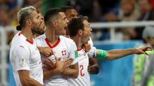 Switzerland Granit Xhaka Xherdan Shaqiri Serbia World Cup 2018