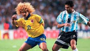 Leonardo Astrada Carlos Valderrama Argentina Colombia Qualifier WC1998