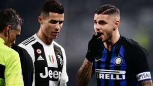 Cristiano Ronaldo Icardi Juventus Inter Serie A