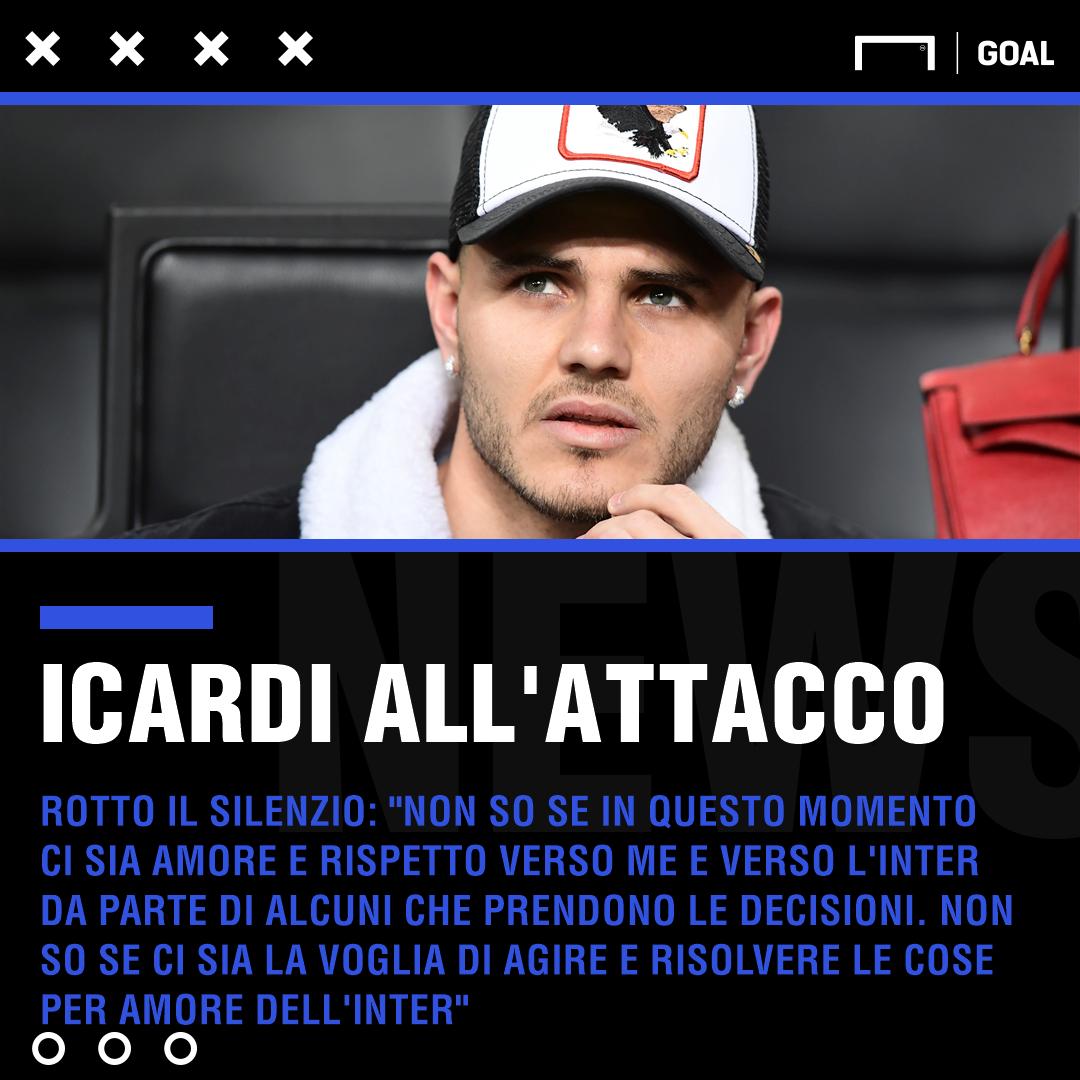 Spalletti amaro su Icardi: