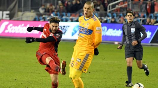 Jonathan Osorio Toronto FC Jorge Torres Nilo Tigres