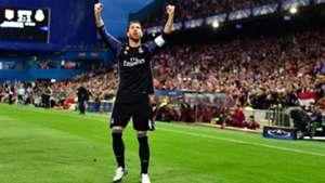 Sergio Ramos Atletico Madrid Real Madrid UEFA Champions League