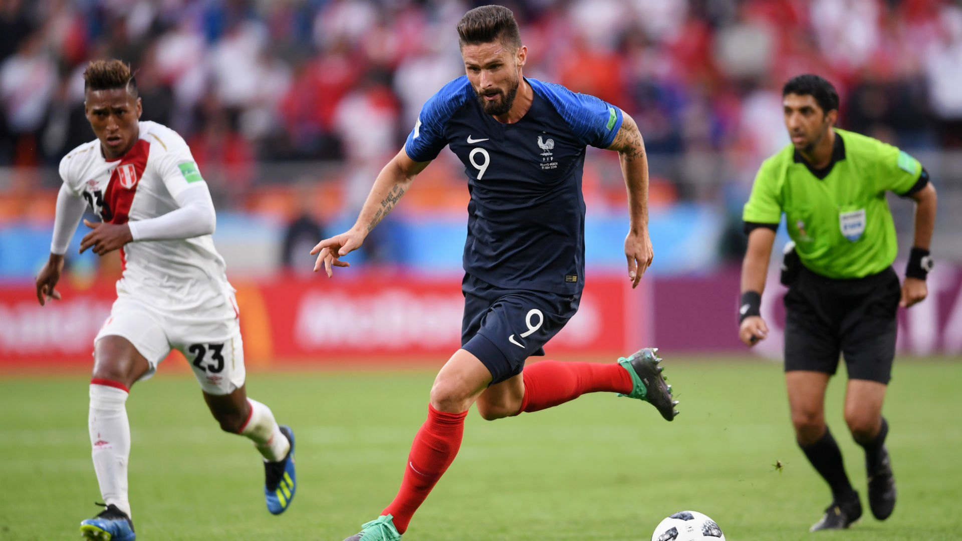 Olivier Giroud France Peru World Cup 2018 21062018