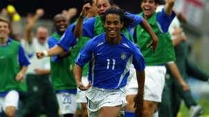 Ronaldinho Brazil 2002 World Cup