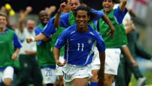Ronaldinho Brazil 2002 World Cup