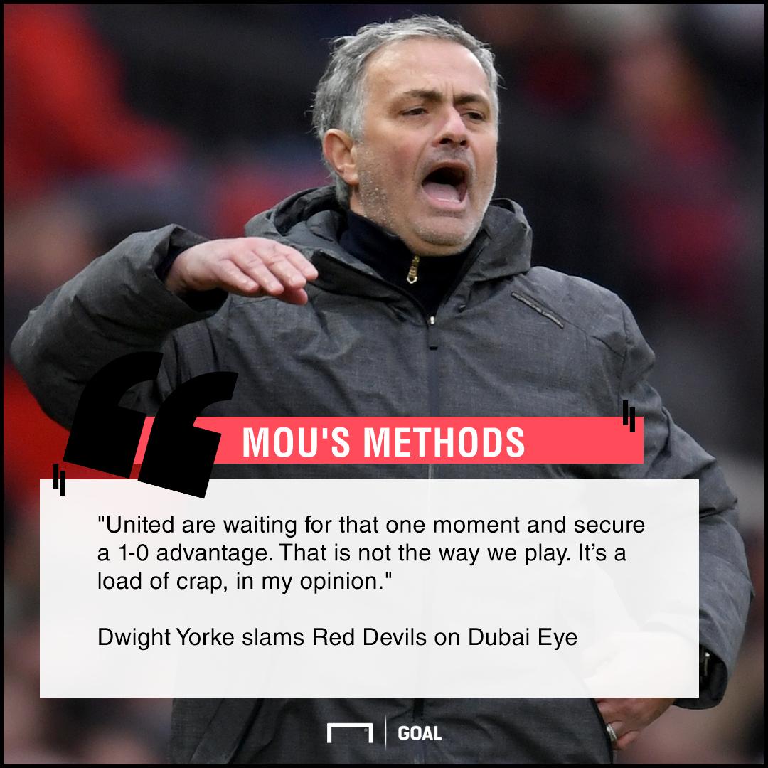 Jose Mourinho load of crap Dwight Yorke