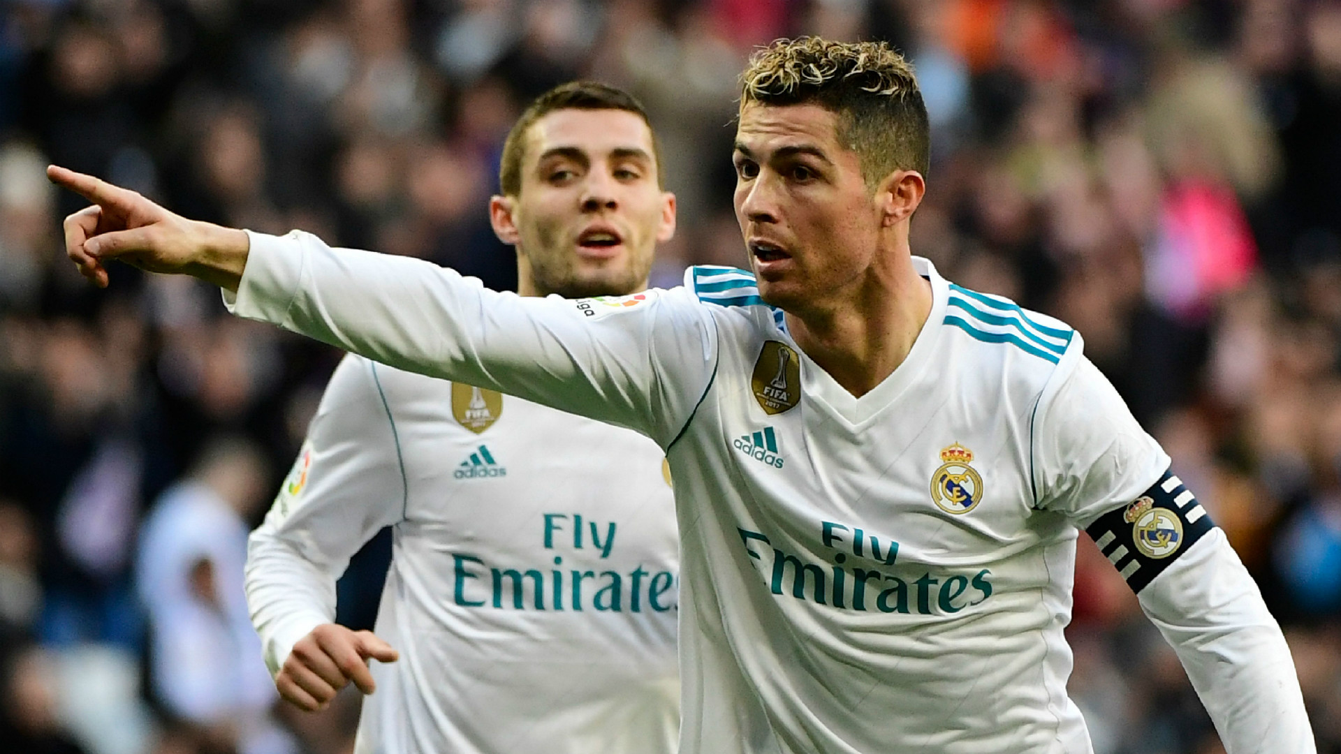 Ronaldo strikes twice as BBC return to form
