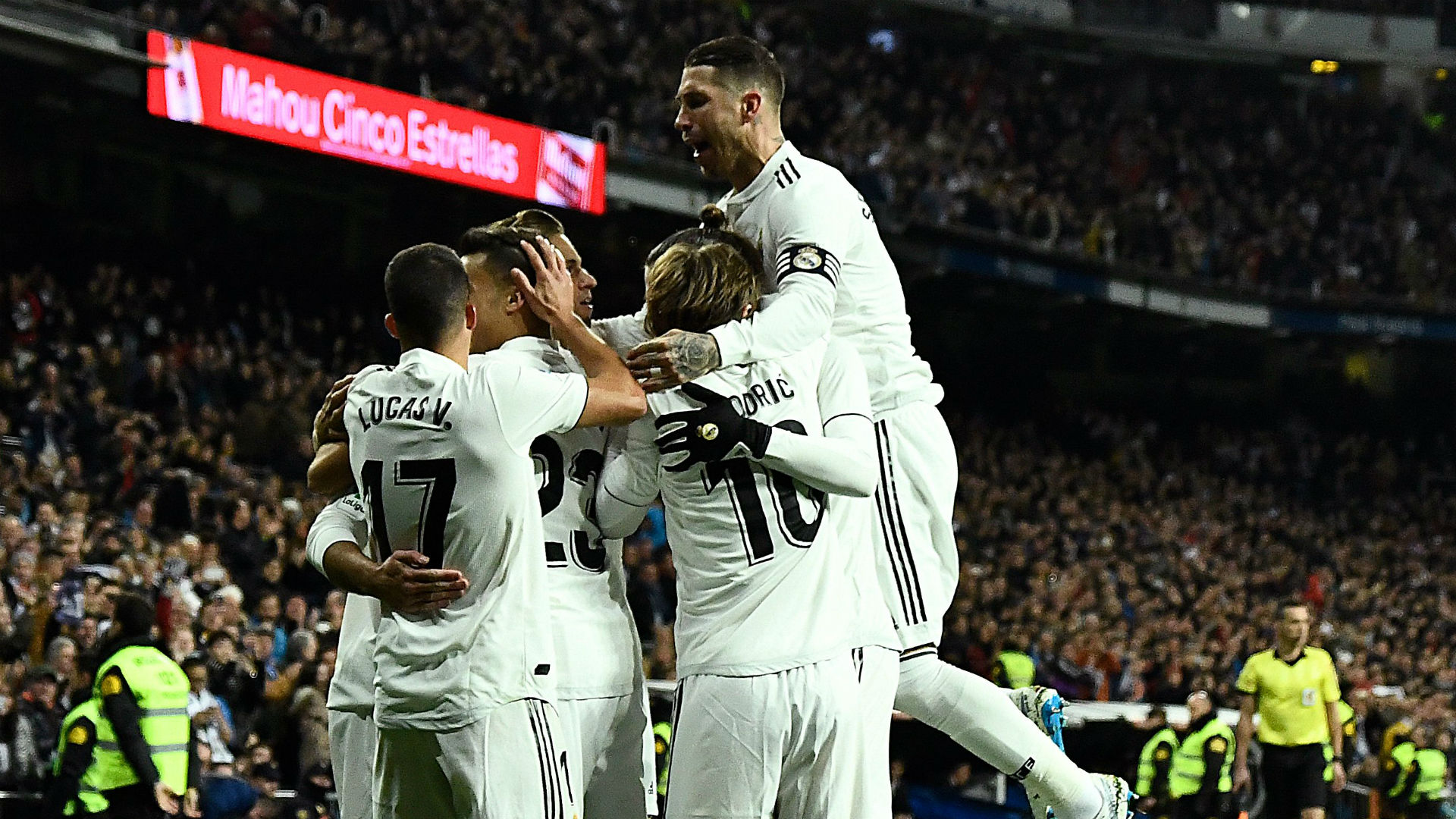 Real Madrid Valencia La Liga 01122018