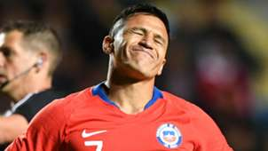 Alexis Sanchez Chile 2018