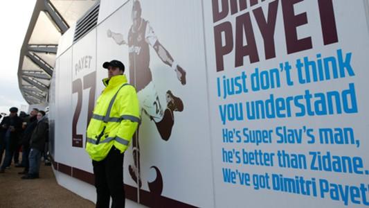 Dimitri Payet Banner West Ham 2017