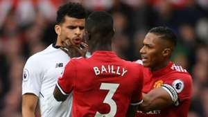 Dominic Solanke Liverpool Eric Bailly Antonio Valencia Manchester United
