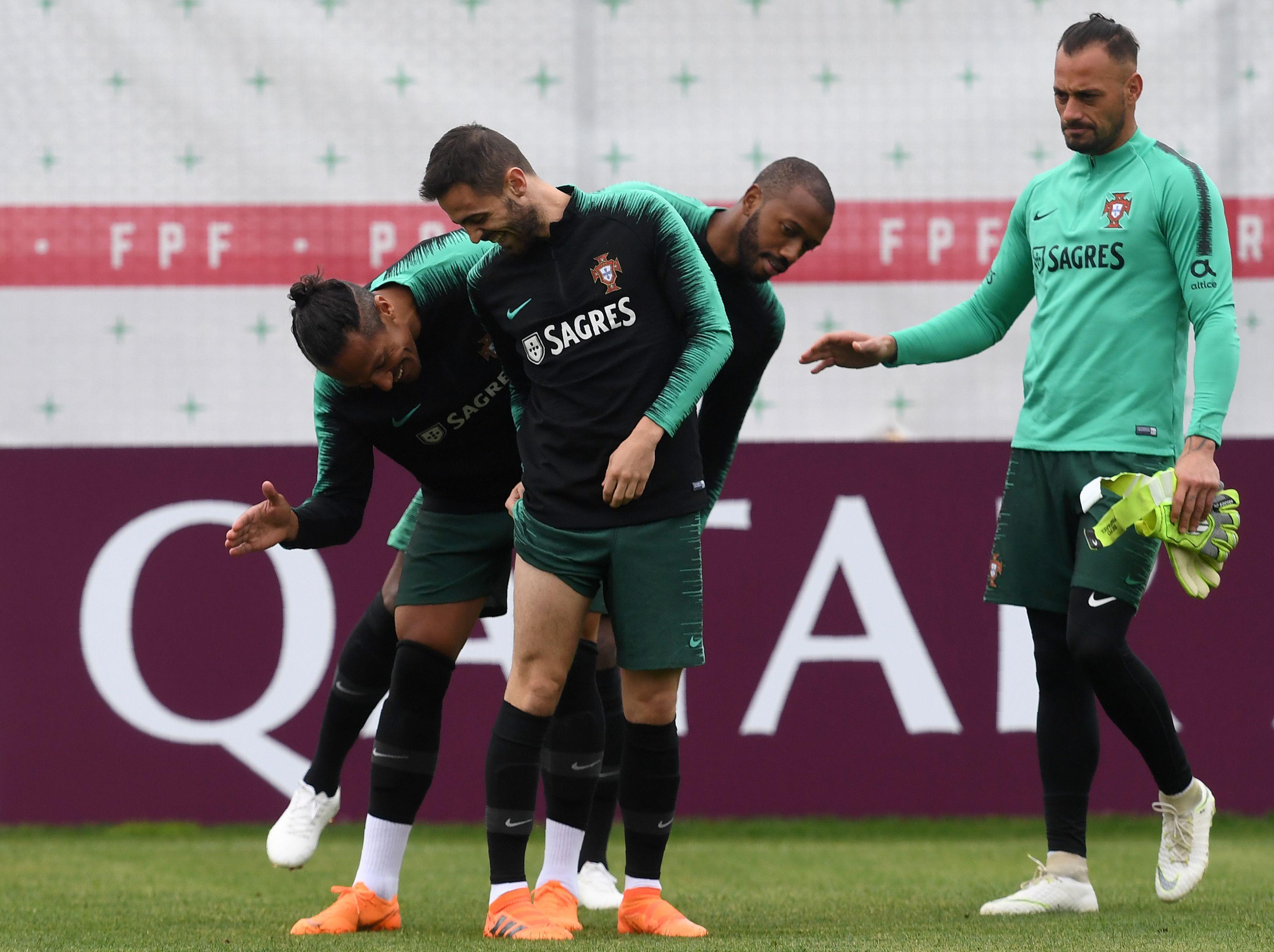 Treino Portugal 11 06 2018