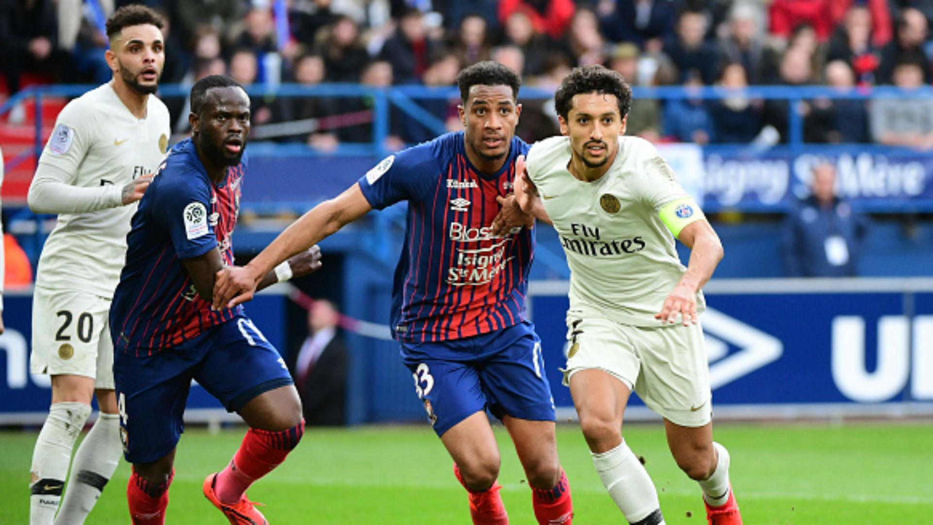Younn Zahary Caen Ligue 1