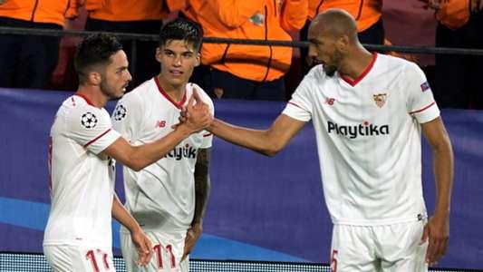 Pablo Sarabia Joaquin Correa Sevilla Bayern Munich UCL 03042018