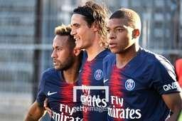 PSG 공격수 네이마르, 카바니, 음바페(왼쪽부터). 사진=게티이미지