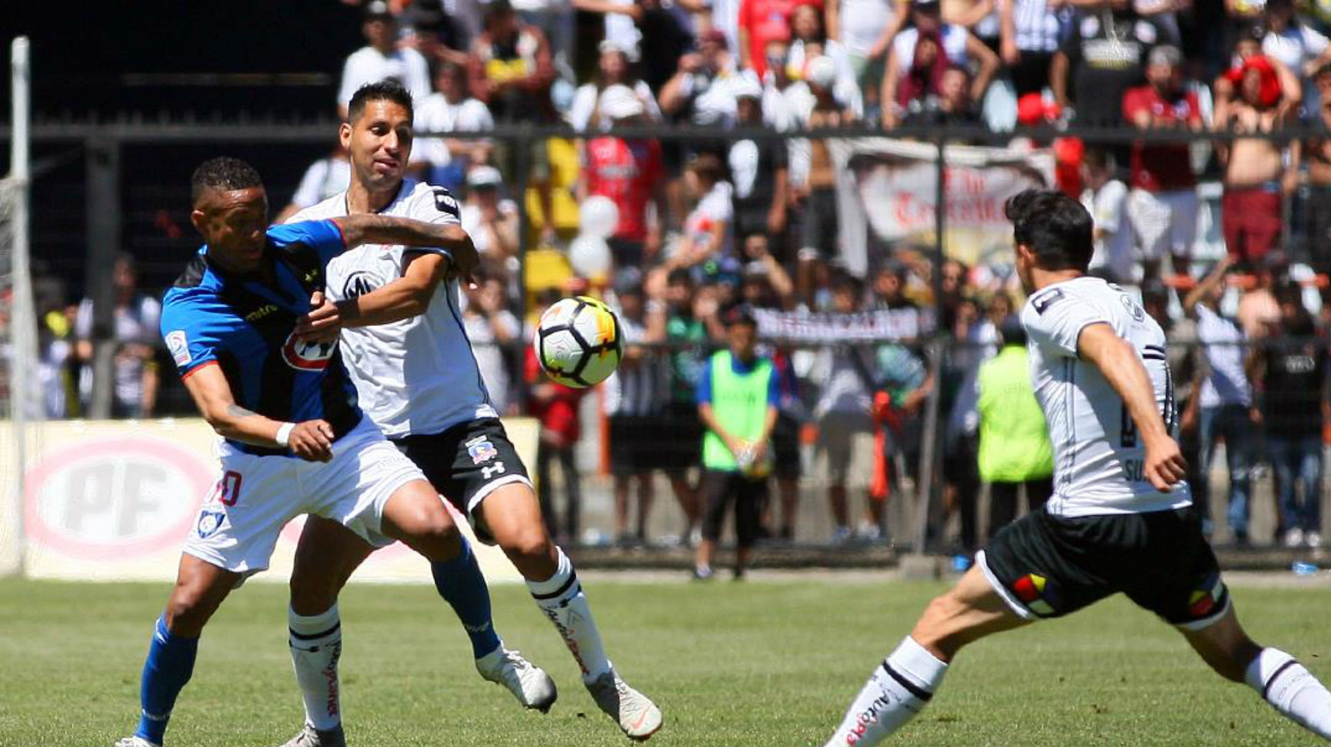 241118 Gabriel Torres Gabriel Suazo Juan Manuel Insaurralde Huachipato Colo Colo