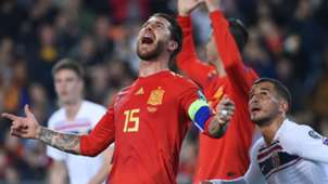 Sergio Ramos Spain Norway Euro 2020 qualifying 2019