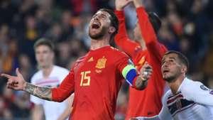 Sergio Ramos Spain Norway Euro 2020 qualifying 2019