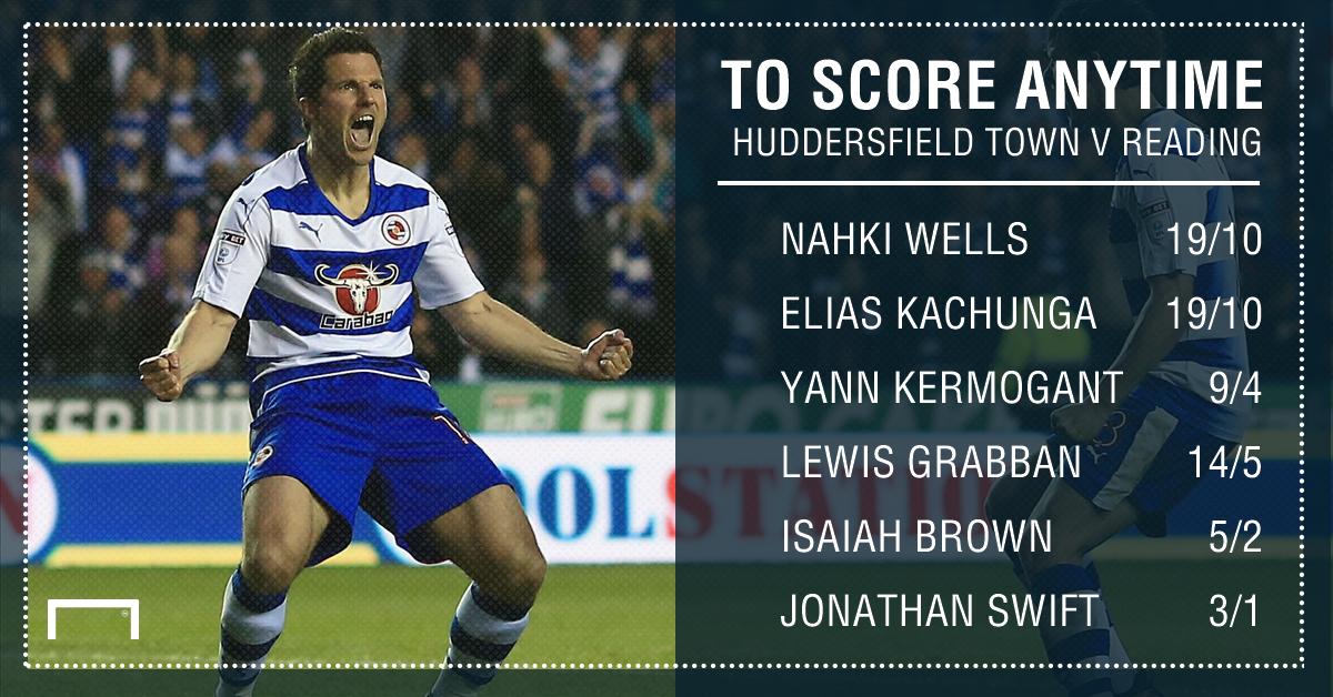GFX Huddersfield Town Reading scorer betting